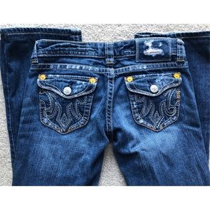 MEK Jeans - MEK DENIM OAXACA FLAP POCKET DENIM BLUE JEANS 25